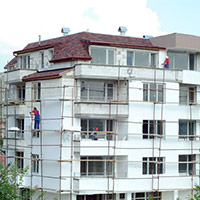 Покрив с битумни керемиди 378