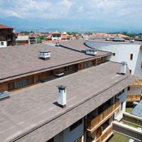 Покрив с битумни керемиди 369