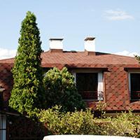 Покрив с битумни керемиди 351