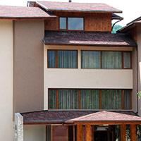 Покрив с битумни керемиди 348