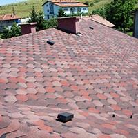 Покрив с битумни керемиди 344