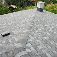 Покрив с битумни керемиди 327
