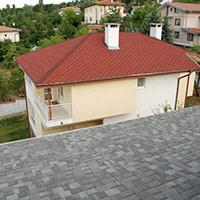 Покрив с битумни керемиди 326