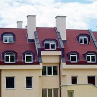 Покрив с битумни керемиди 311