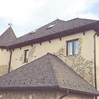 Покрив с битумни керемиди 308