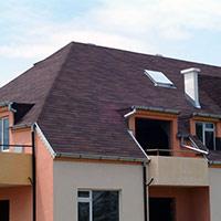 Покрив с битумни керемиди 307