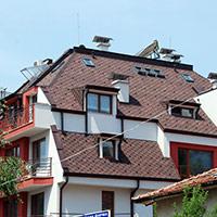Покрив с битумни керемиди 305