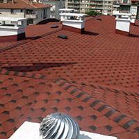Покрив с битумни керемиди 304