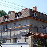 Покрив с битумни керемиди 274