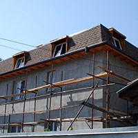 Покрив с битумни керемиди 273