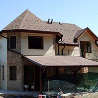 Покрив с битумни керемиди 269