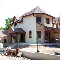 Покрив с битумни керемиди 268