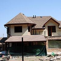 Покрив с битумни керемиди 266