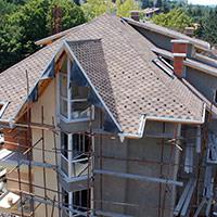 Покрив с битумни керемиди 265
