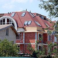 Покрив с битумни керемиди 263