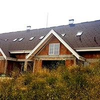 Покрив с битумни керемиди 256