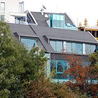Покрив с битумни керемиди 252