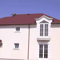 Покрив с битумни керемиди 240