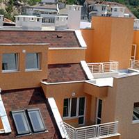 Покрив с битумни керемиди 239