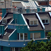 Покрив с битумни керемиди 238