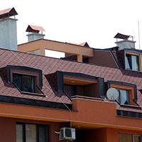 Покрив с битумни керемиди 234
