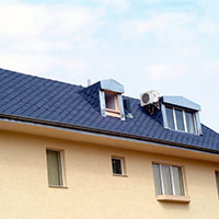 Покрив с битумни керемиди 233