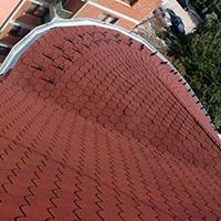 Покрив с битумни керемиди 232