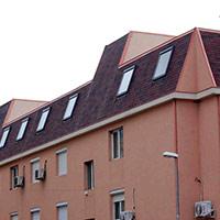 Покрив с битумни керемиди 230