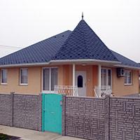 Покрив с битумни керемиди 228