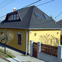 Покрив с битумни керемиди 223