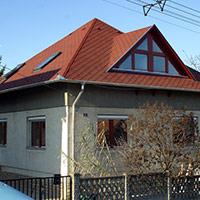 Покрив с битумни керемиди 220