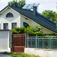 Покрив с битумни керемиди 213