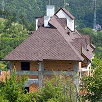 Покрив с битумни керемиди 212
