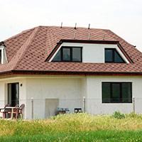 Покрив с битумни керемиди 209