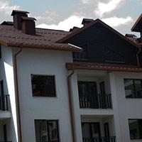 Покрив с битумни керемиди 164