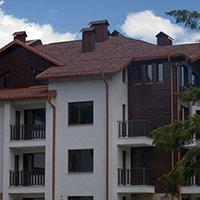 Покрив с битумни керемиди 160