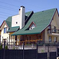 Покрив с битумни керемиди 157