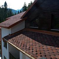 Покрив с битумни керемиди 153
