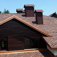 Покрив с битумни керемиди 151