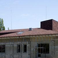 Покрив с битумни керемиди 150