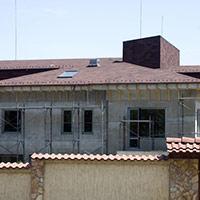 Покрив с битумни керемиди 148