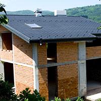 Покрив с битумни керемиди 145