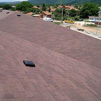 Покрив с битумни керемиди 141