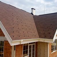Покрив с битумни керемиди 140