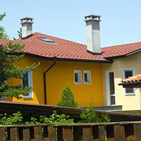 Покрив с битумни керемиди 136