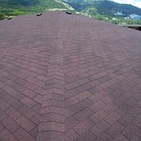 Покрив с битумни керемиди 132