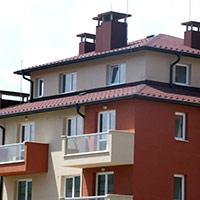 Покрив с битумни керемиди 128