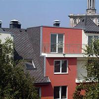 Покрив с битумни керемиди 107