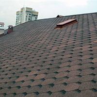 Покрив с битумни керемиди 106