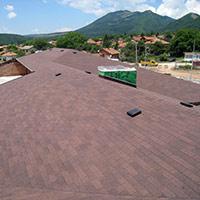 Покрив с битумни керемиди 96